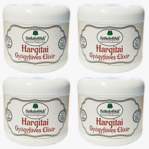 4 Dobozos akciós csomag Hargitai Gyógyfüves Elixír – 20 gyógynövényből + Ajándék gyógynövényes tönköly párnával és huzattal